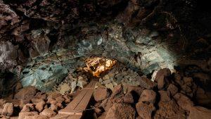 Interior Cueva de Viilaverde