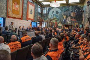 Acto de conmemoración del Día Mundial de la Protección Civil