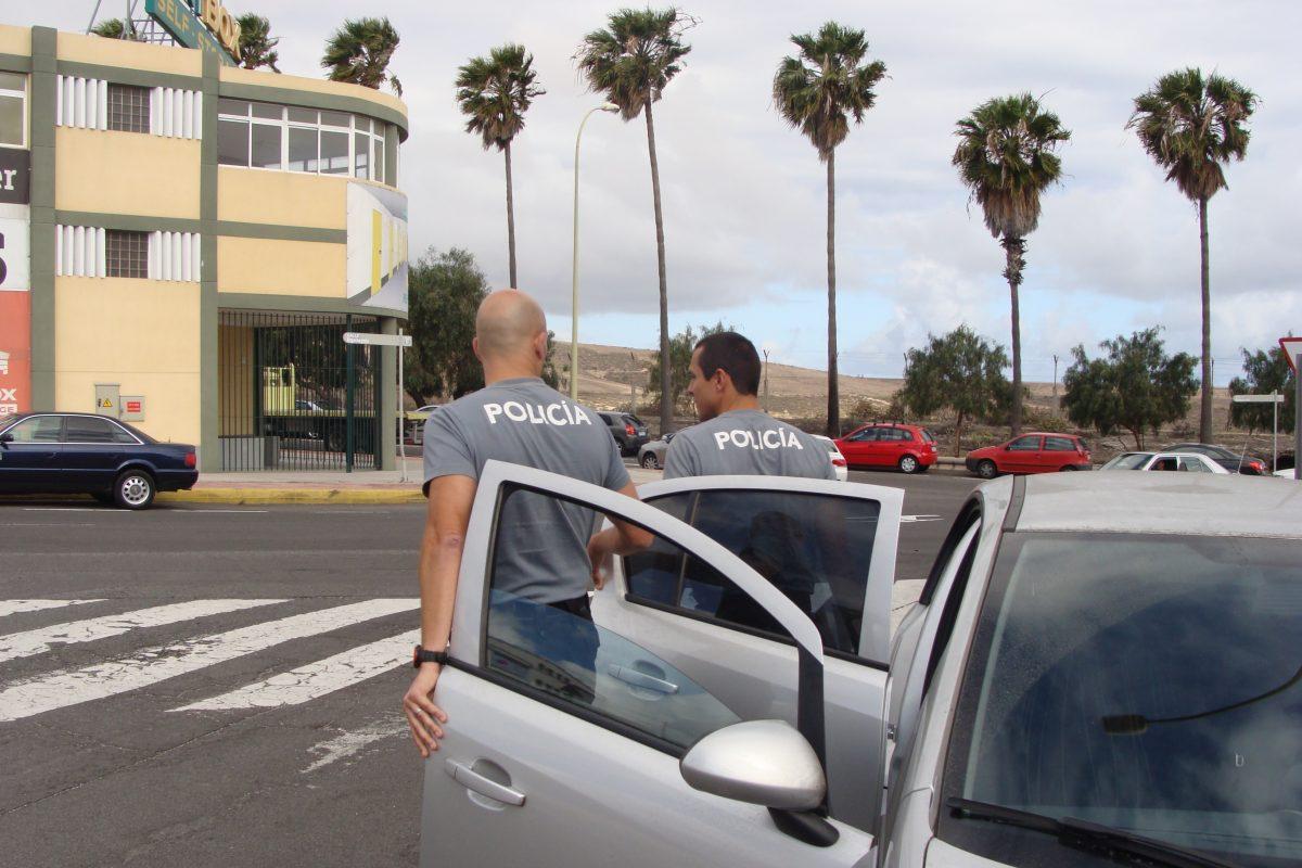 Imagen de práctica de detención policial
