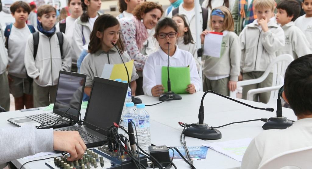 Encuentro de radios escolares celebrado recientemente.