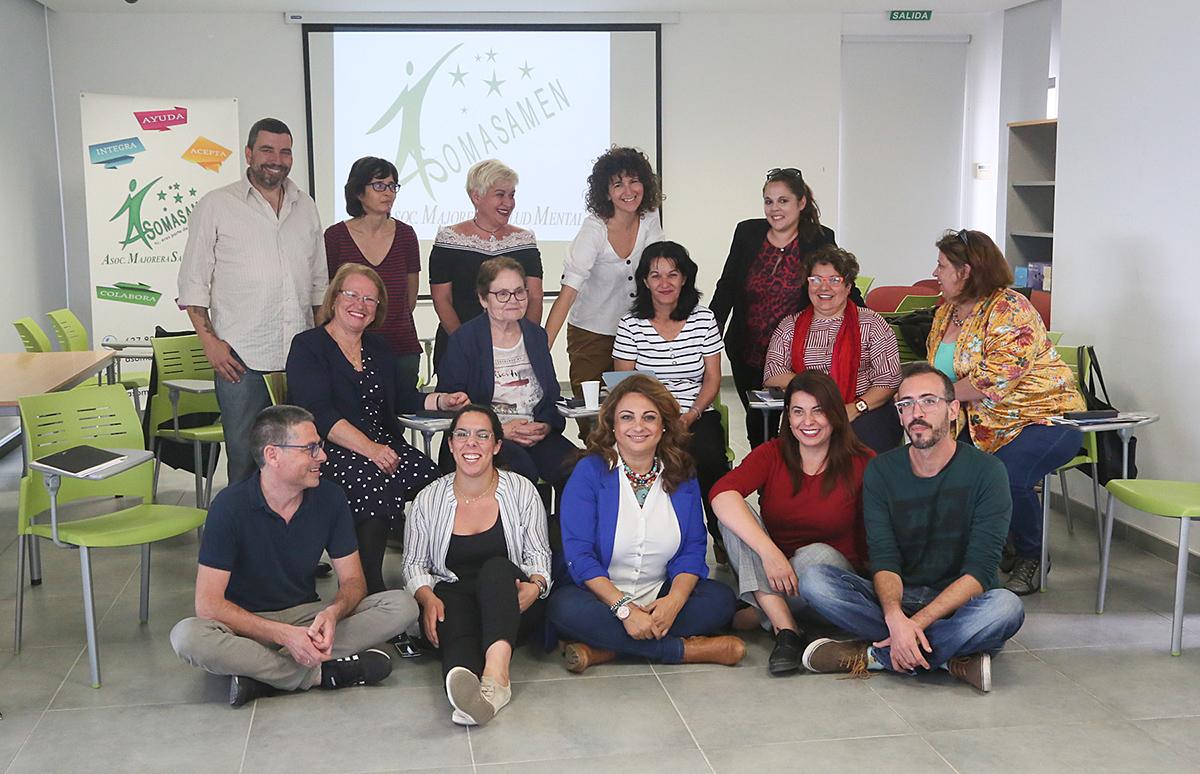 La consejera de Empleo, Políticas Sociales y Vivienda del Gobierno de Canarias aplaude la labor que están realizando.