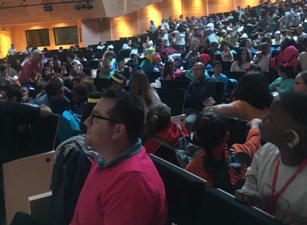El Congreso de Jóvenes Lectores reúne a 700 estudiantes en el Palacio de Congresos.