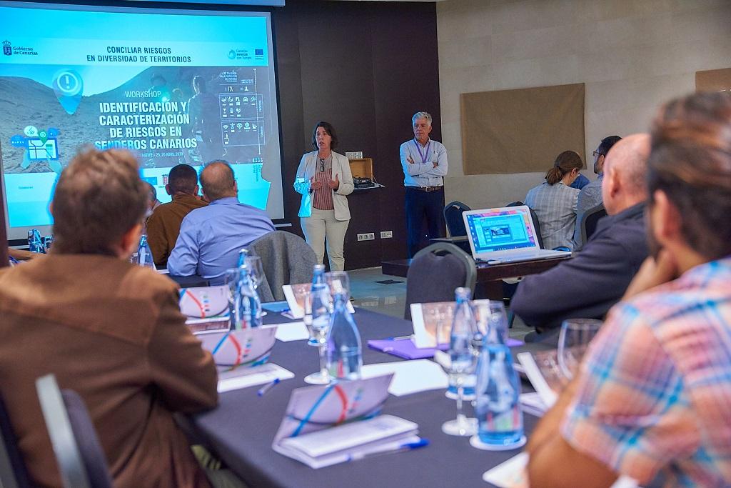 Blanca Pérez durante la presentación de las jornadas técnicas