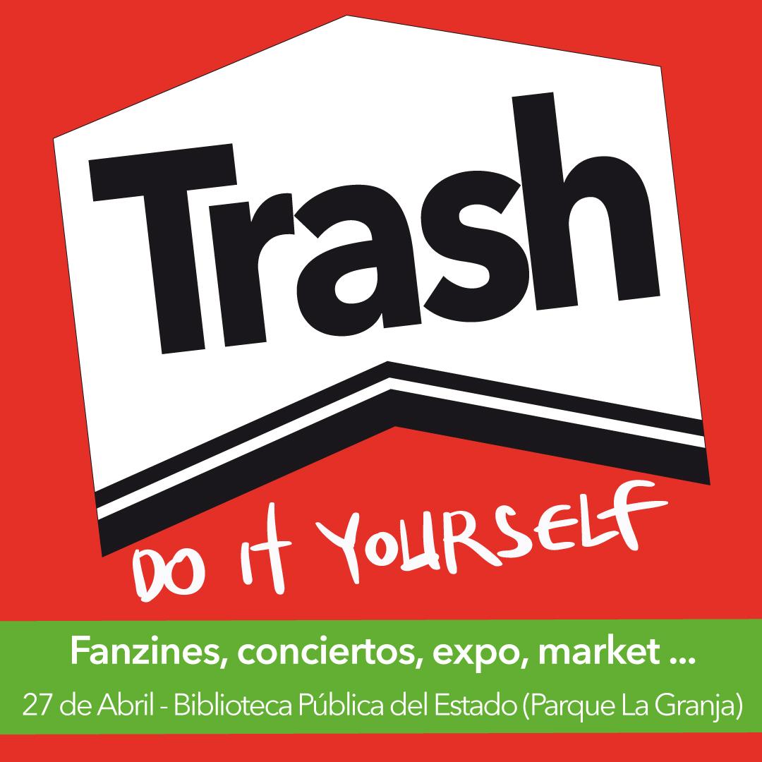 Imagen gráfica creada para el Trash Fest