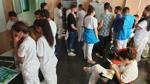 Actividad formativa para los alumnos de enfermería y TCAE 8