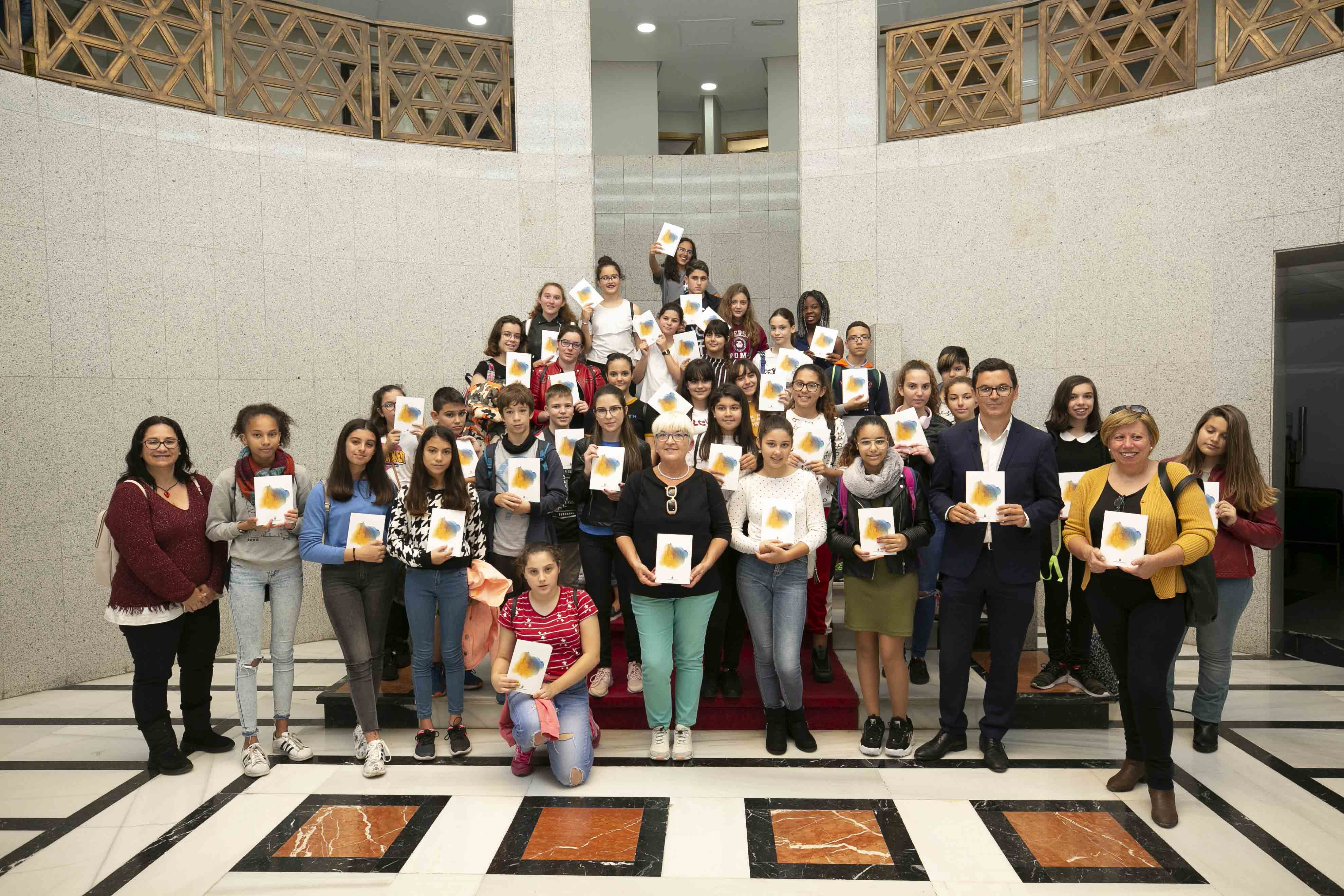 recepción estudiantes IES Montesinos