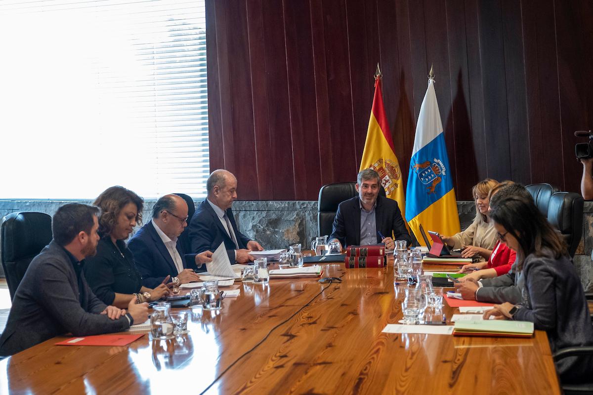 Imagen de la reunión del Consejo