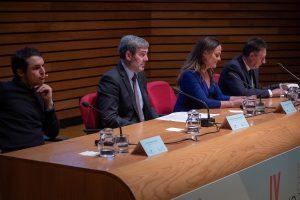 El presidente del Gobierno de Canarias en la entrega de los Premios EFCA 2019