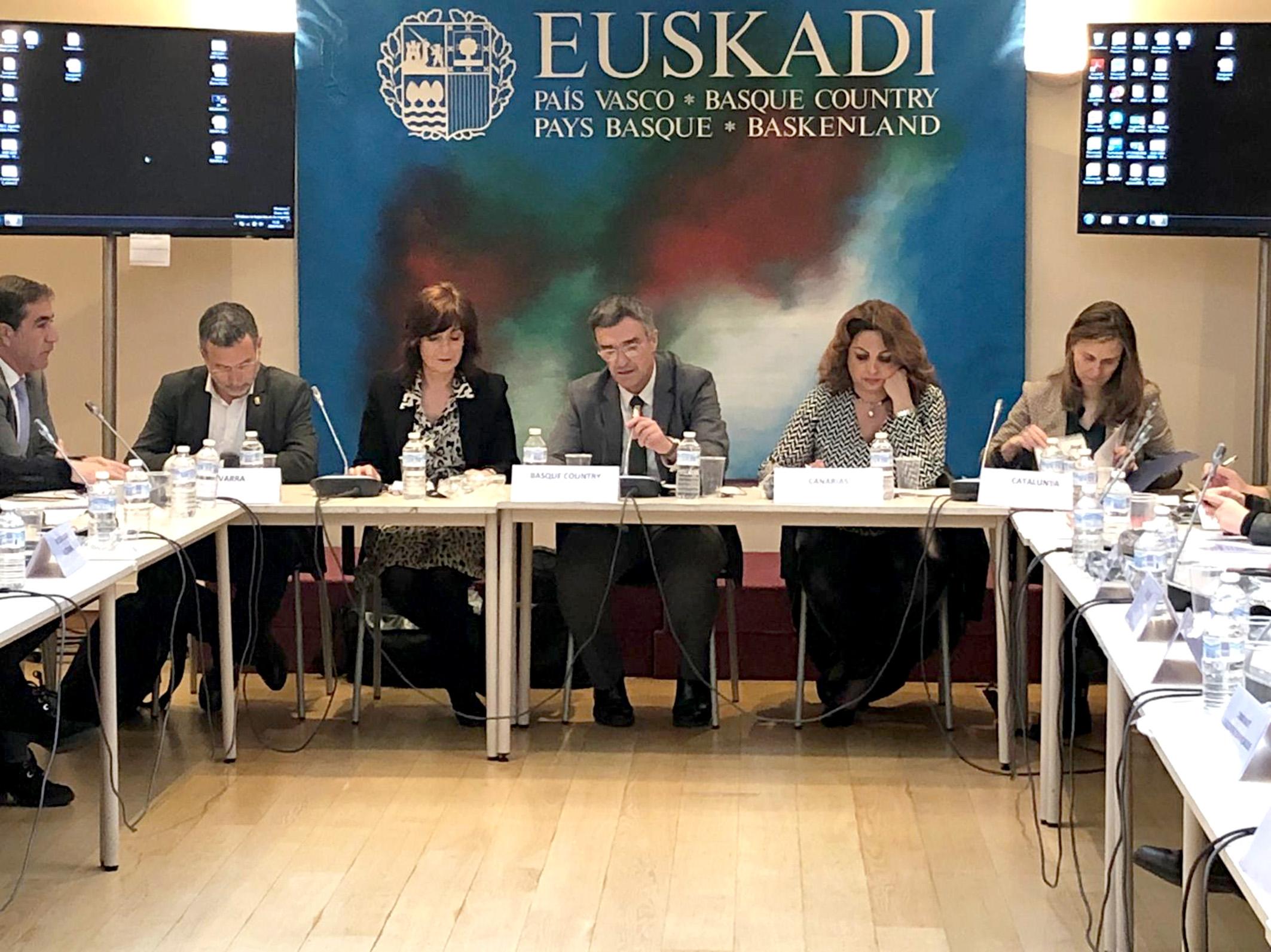 Canarias ha participado en Bruselas en la reunión organizada en la sede del Gobierno de Euskadi y junto a Cataluña, Navarra, Melilla, Andalucía, Castilla La Mancha, Valencia y Murcia sobre la Propuesta SHARE