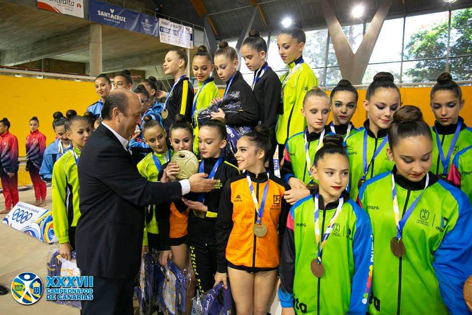 Campeonatos Canarias en edad escolar