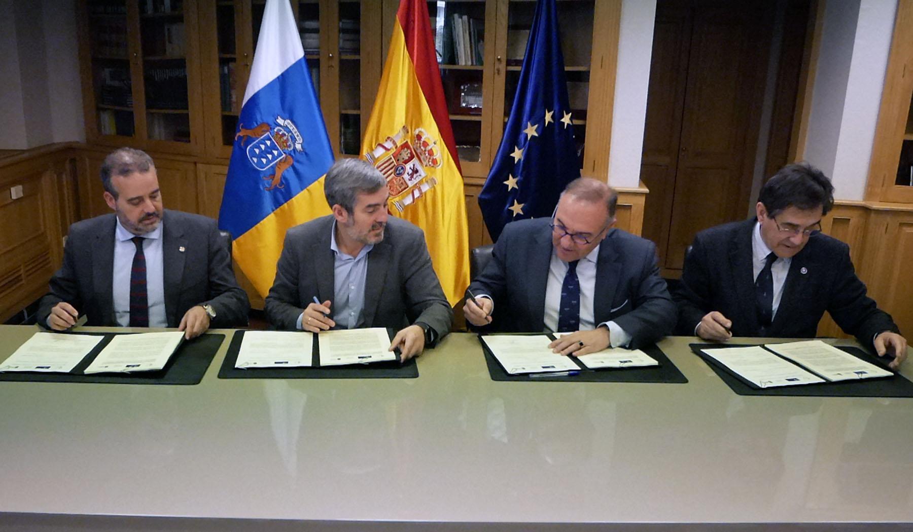 Firma del Convenio en Ciencias de la Salud