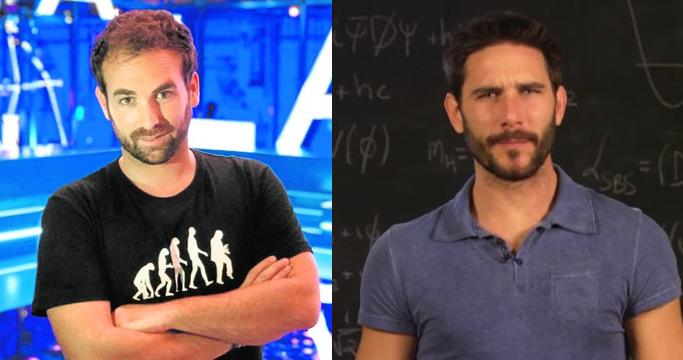 Santiago García y Javier Santaolalla tienen un millón de seguidores en Youtube