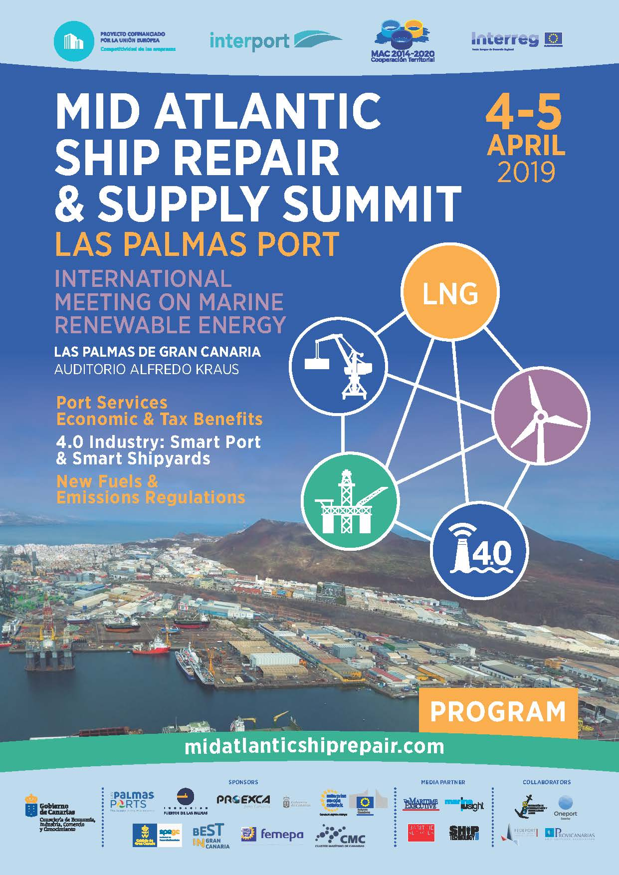 Jornadas Mid Atlantic Ship Repair & Supply Summit.