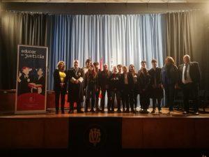El IES Viera y Clavijo participa en el Programa Educar en Justicia.