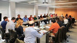 Momento de la reunión de la Mesa Sectorial sobre la Oferta de Empleo Público