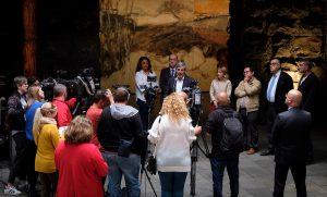 Fernando Clavijo en rueda de prensa tras las reuniones con el Consejo y los portavoces parlamentarios