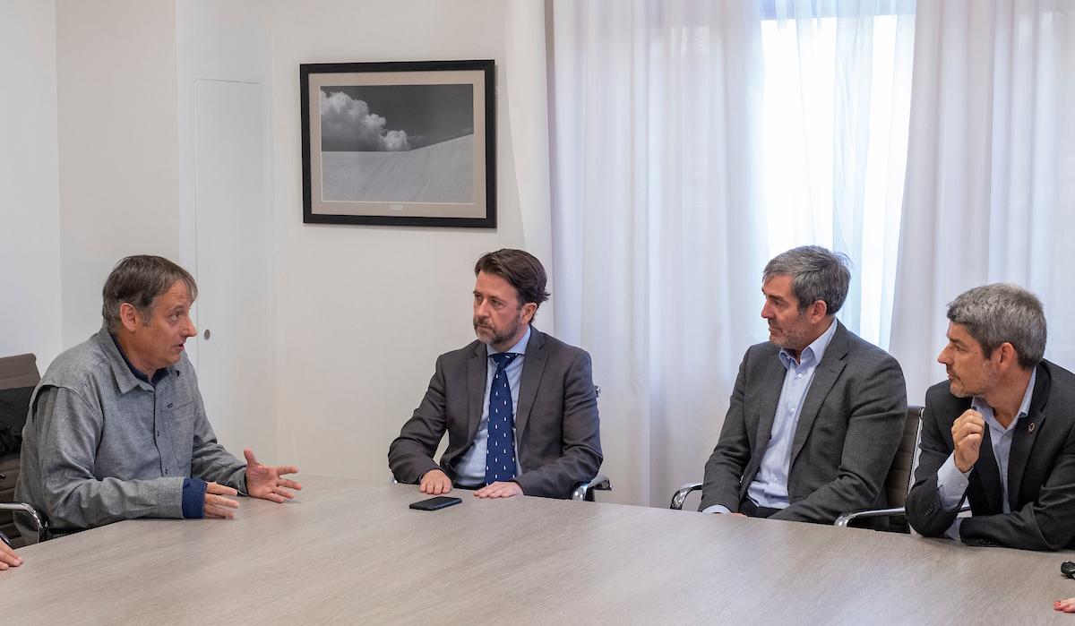 Clavijo se reúne con directivos de El Ranchito