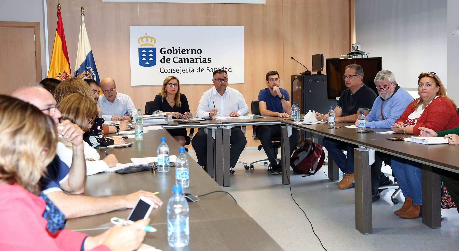 Reunión de la Mesa Sectorial sobre la Oferta de Empleo Público