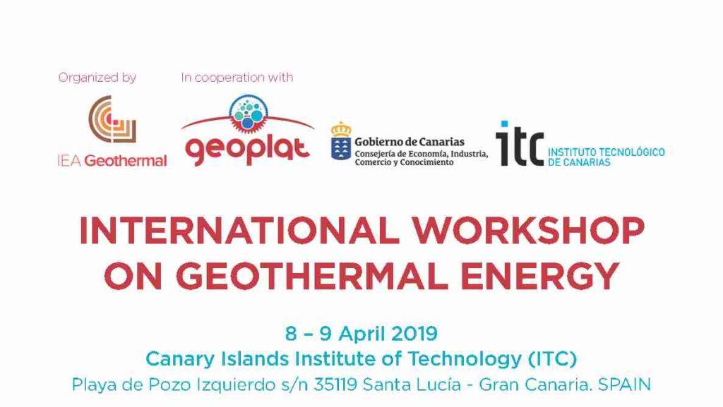Seminario Internacional sobre Geotermia.