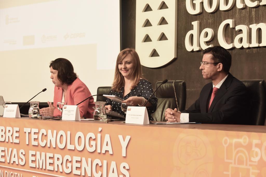 Apertura de las VII Jornadas de Tecnología y Nuevas Emergencias del 1-1-2