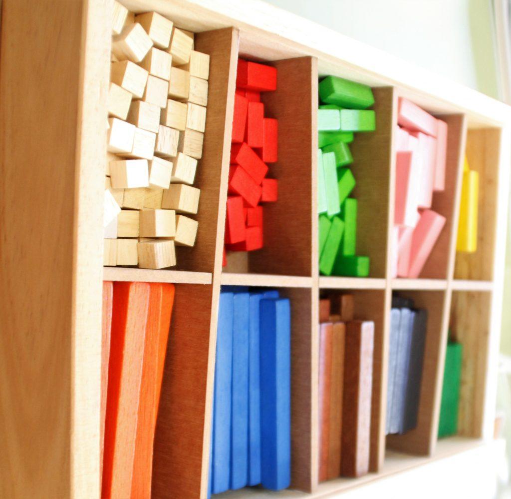 Imagen de actividades matemáticas en centro educativo.