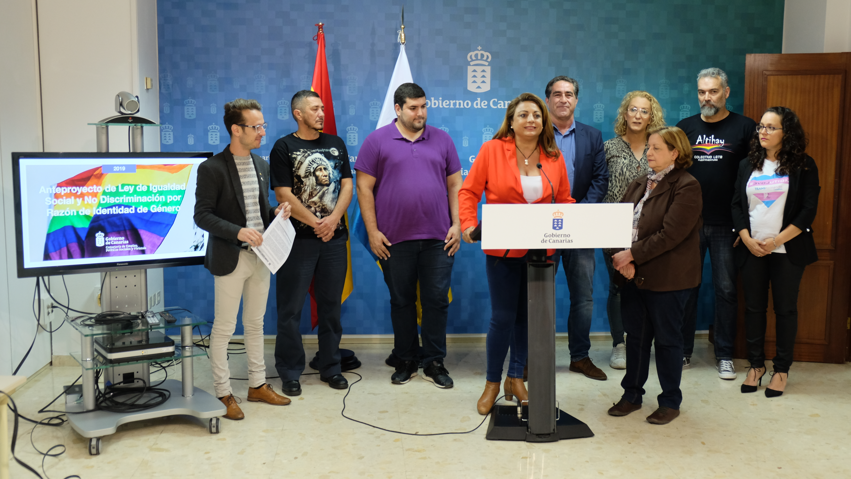Presentación anteproyecto Ley de Igualdad social