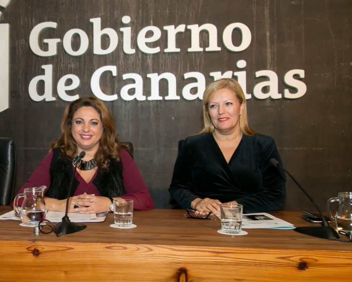 Cristina Valido y Carmen Morales