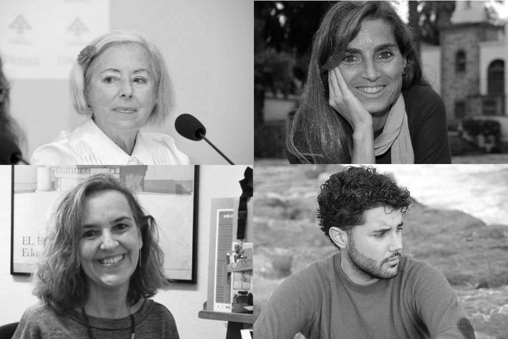 Ponentes de la Jornada de Escritoras Canarias