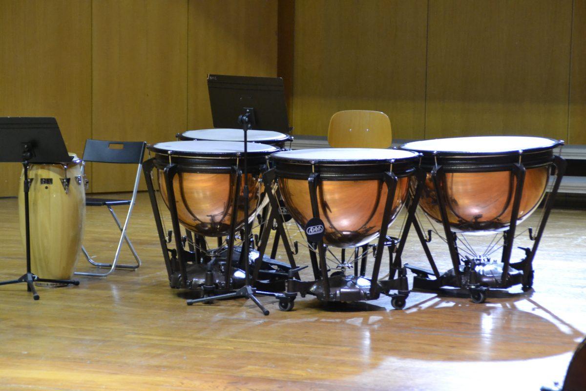Instrumentos en Conservatorio