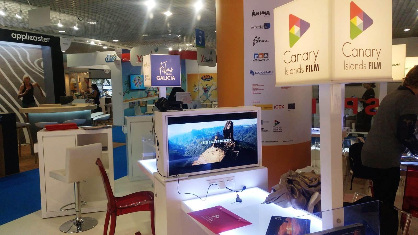 Espacio de Canarias en Cannes