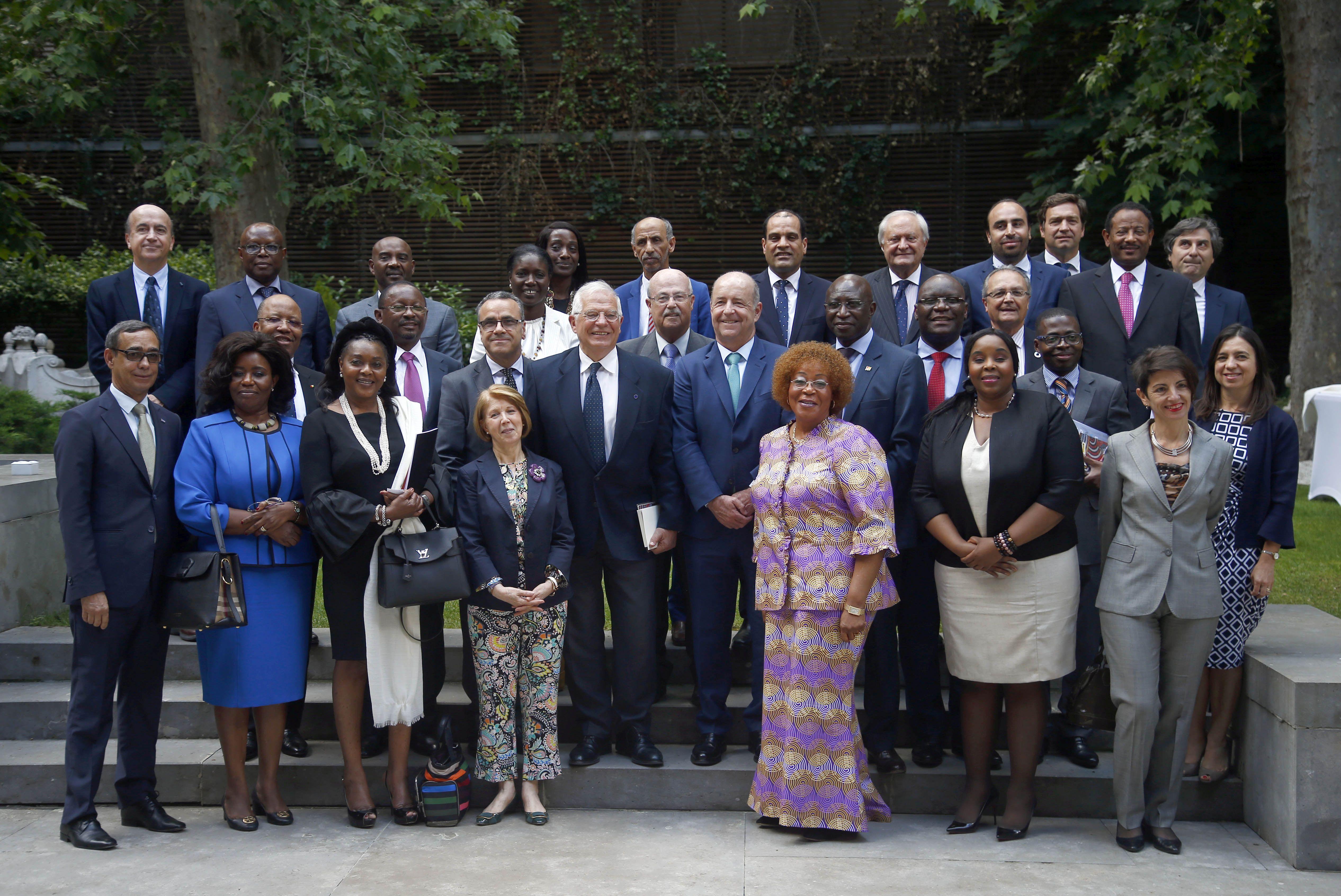 Reunión del XI Consejo Diplomático de Casa África.