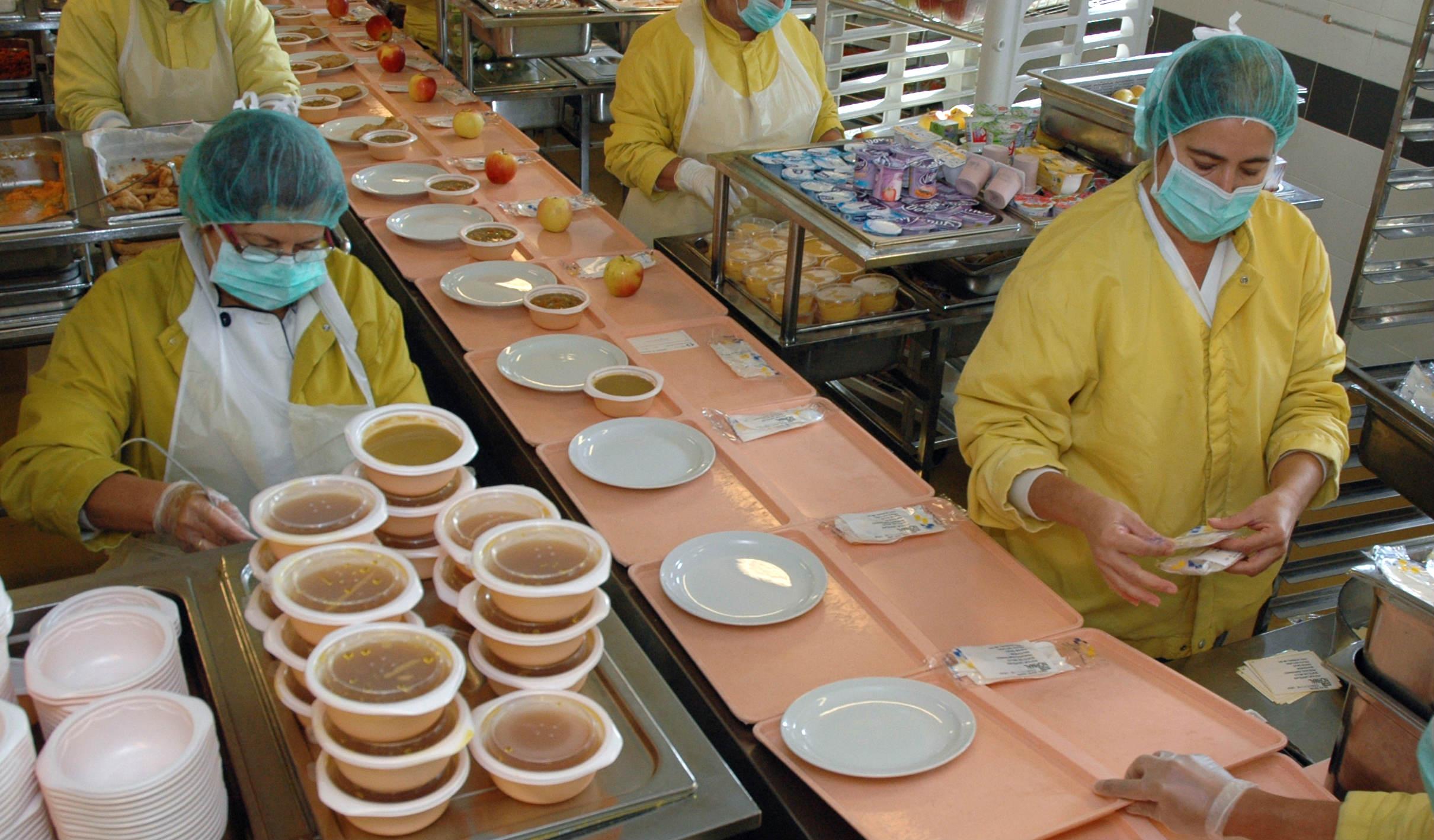 Imagen de la cocina del Hospital Insular-Materno Infantil