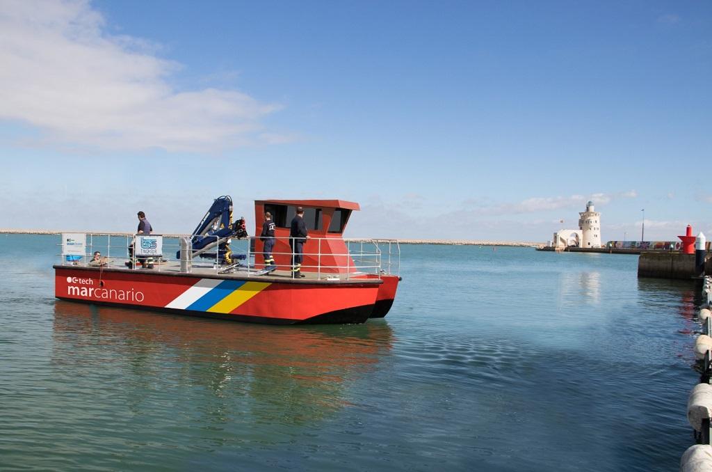Primer barco de vigilancia ambiental