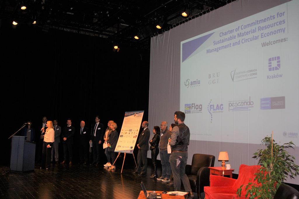En un momento de la presentación en Bruselas