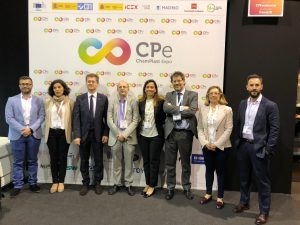 Presentación canaria en el ChemPlast Expo, celebrado en Madrid