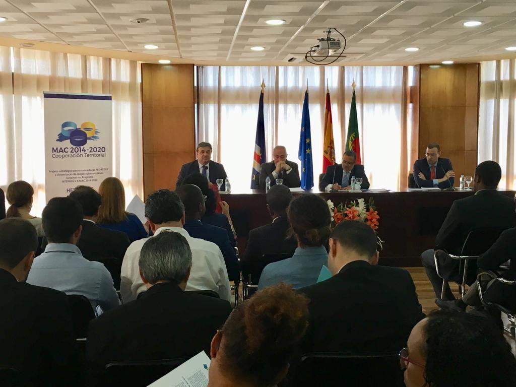 Jornadas en Praia para mejorar los resultados de la cooperación de Canarias y Cabo Verde.