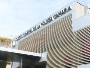 Sede Policía Canaria en Tenerife