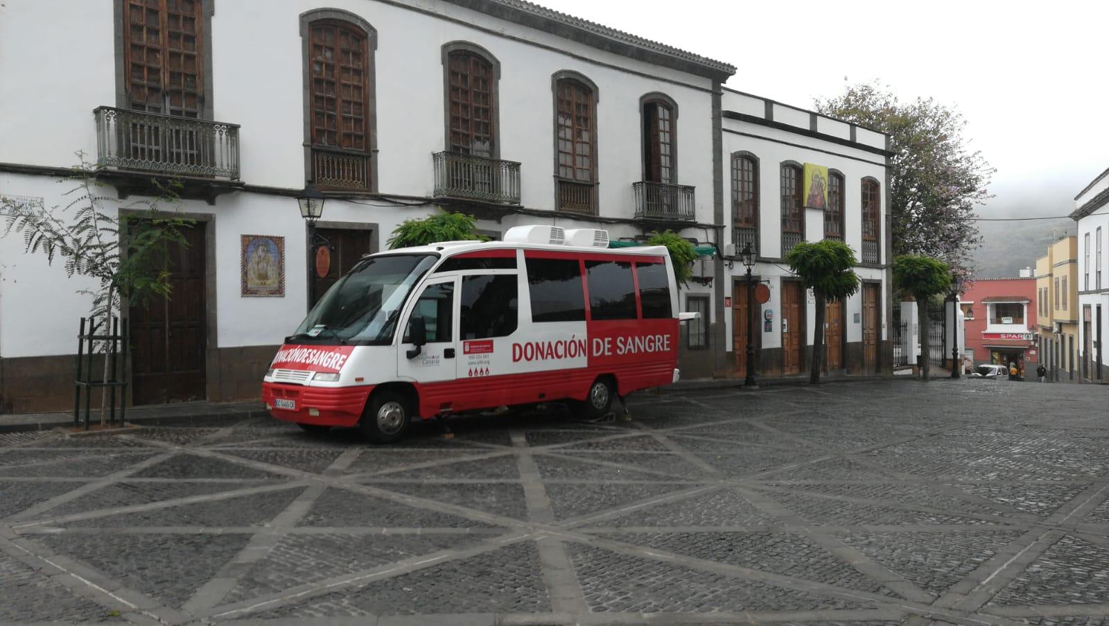 El ICHH comienza su nueva campaña de extracción de sangre en la Villa de Teror