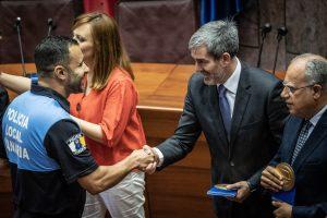 Acto del Día de la Policía Canaria