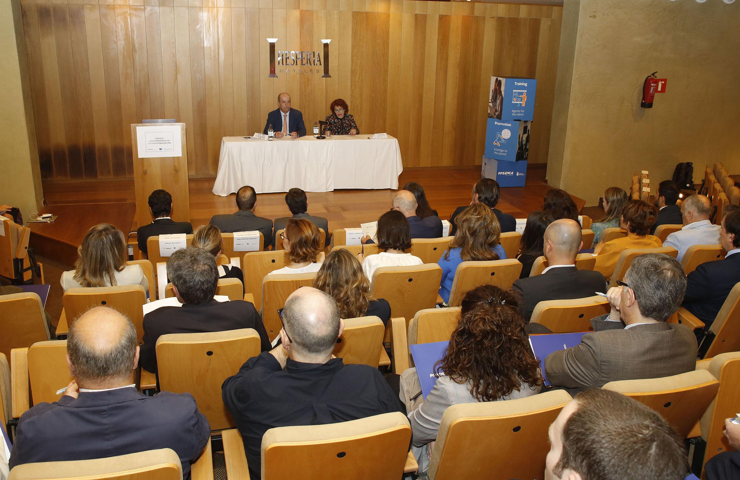 Pedro Ortega destaca los buenos resultados de la internacionalización de la economía canaria