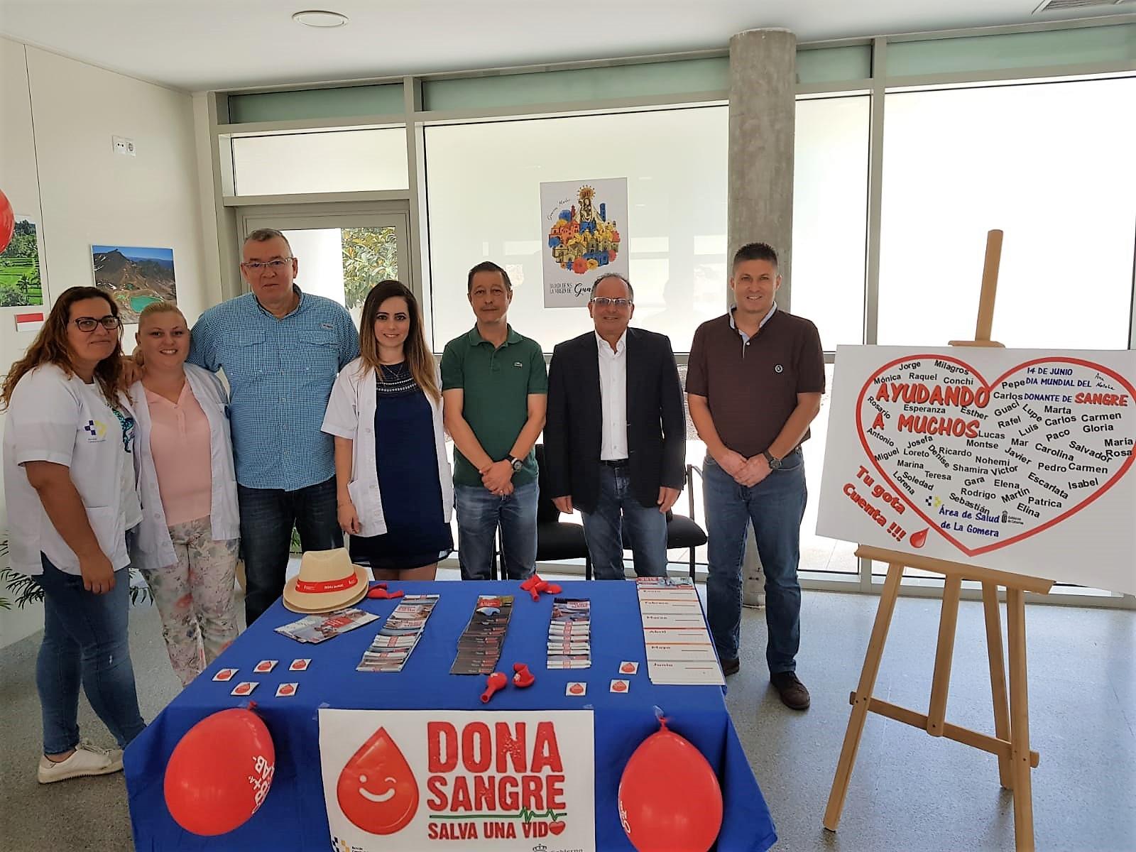 DM Donante de sangre La Gomera