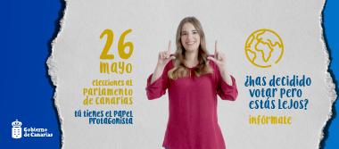Campaña institucional del voto CERA del proceso electoral autonómico 2019
