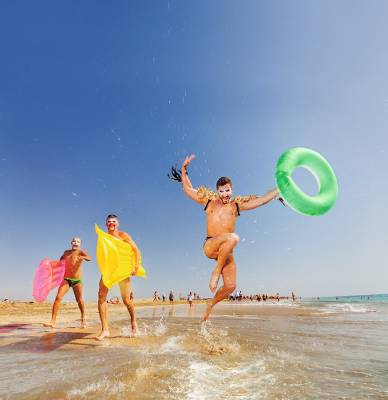 Imagen de la web promocional de Canarias para el mercado LGTB