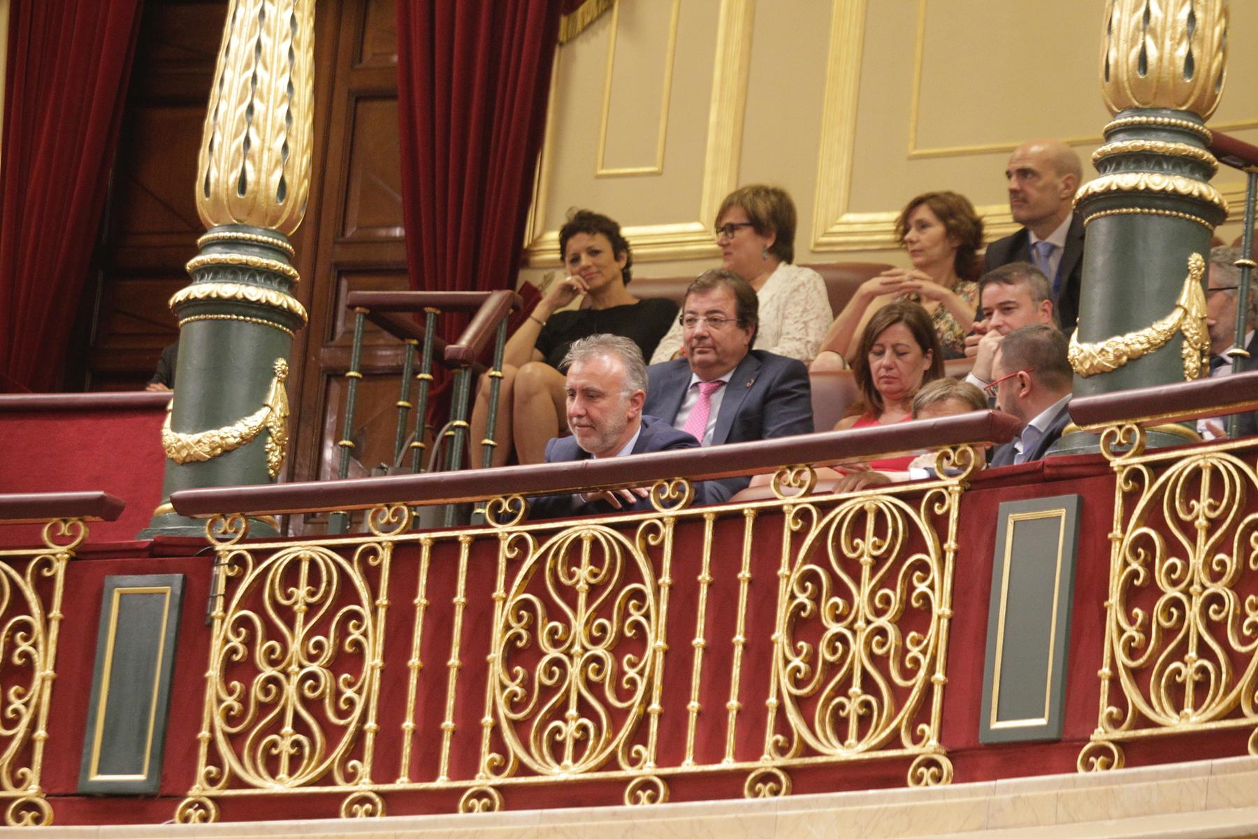 Ángel Víctor Torres en el Congreso