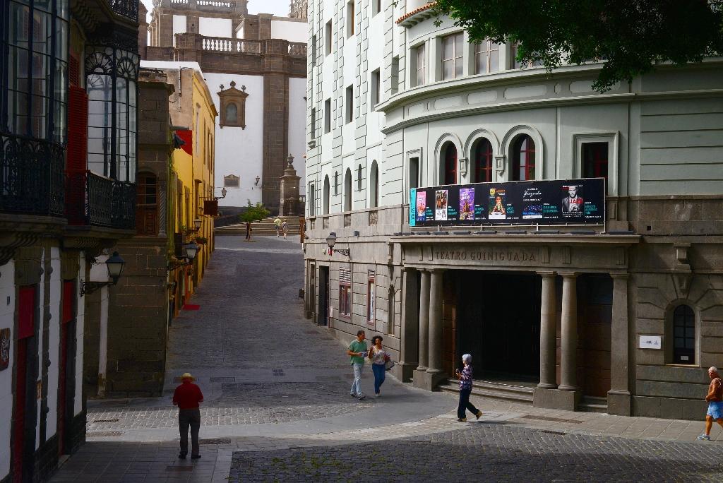 Fachada del Teatro Guiniguada