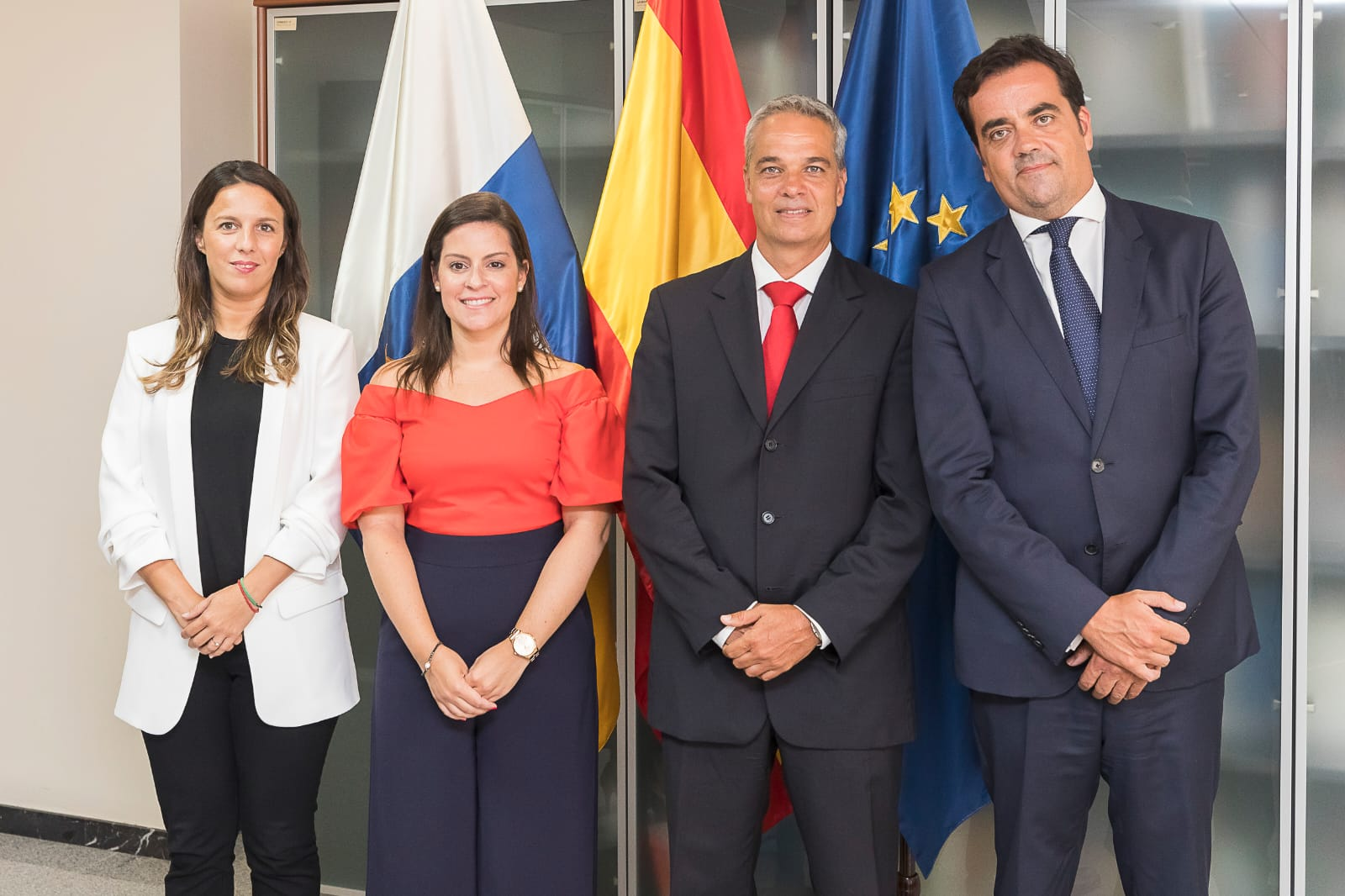 09082019_CTIC_ Yaiza Castilla con los nuevos nombramientos