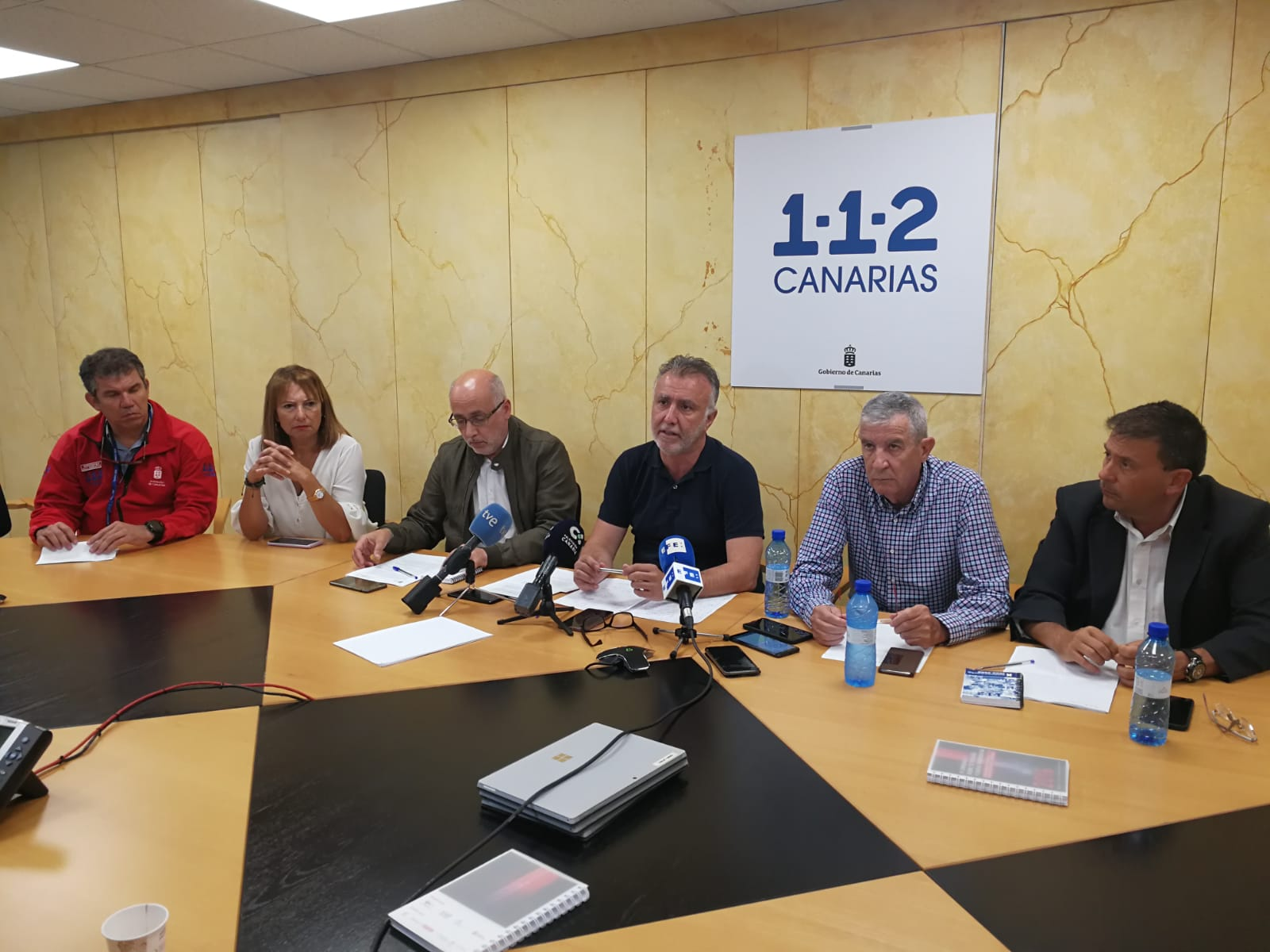 Rueda de Prensa Incendio Gran Canaria