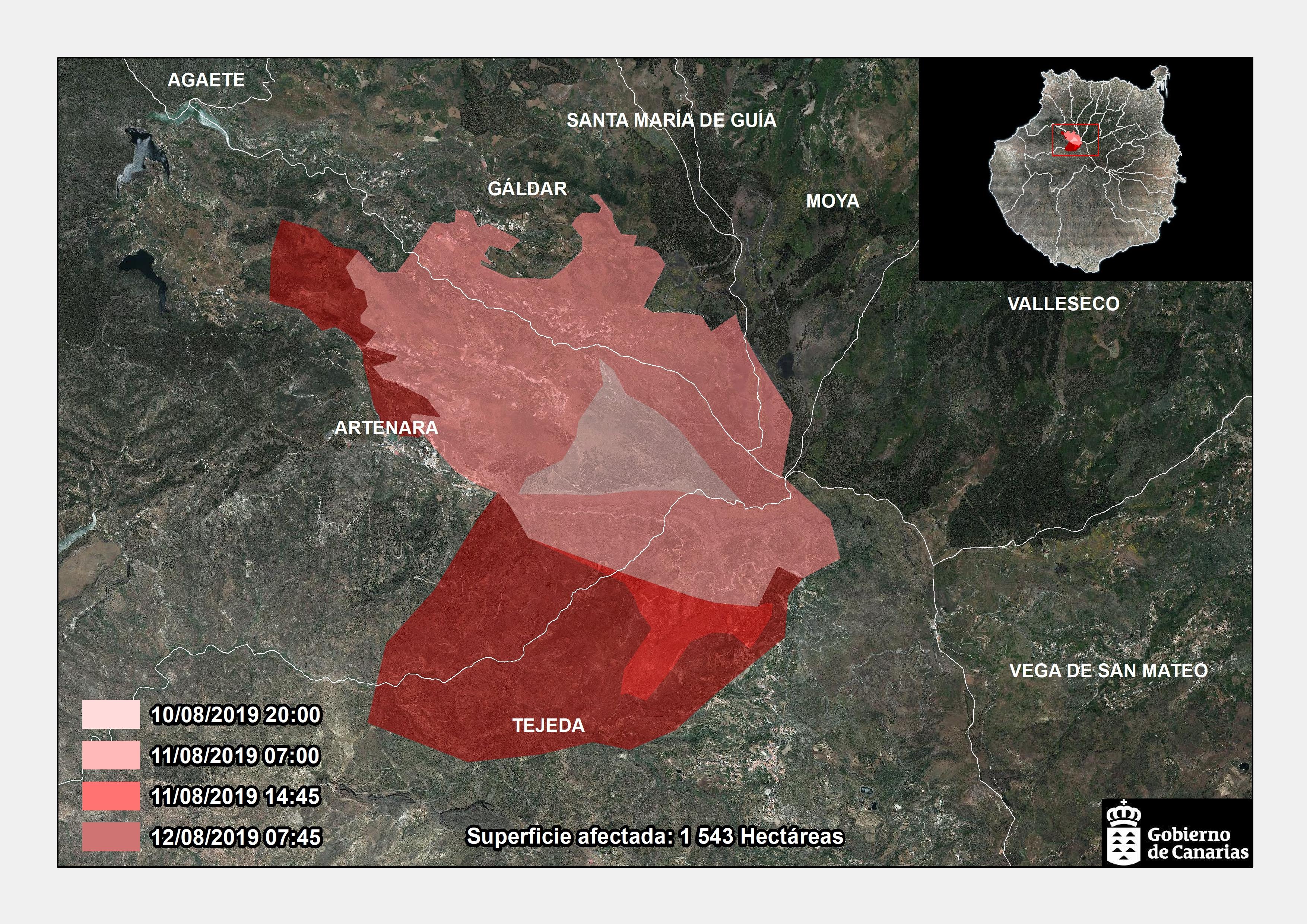 120819 Infografía incendio Gran Canaria