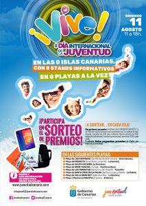 Cartel programa Vive Dirección General de Juventud