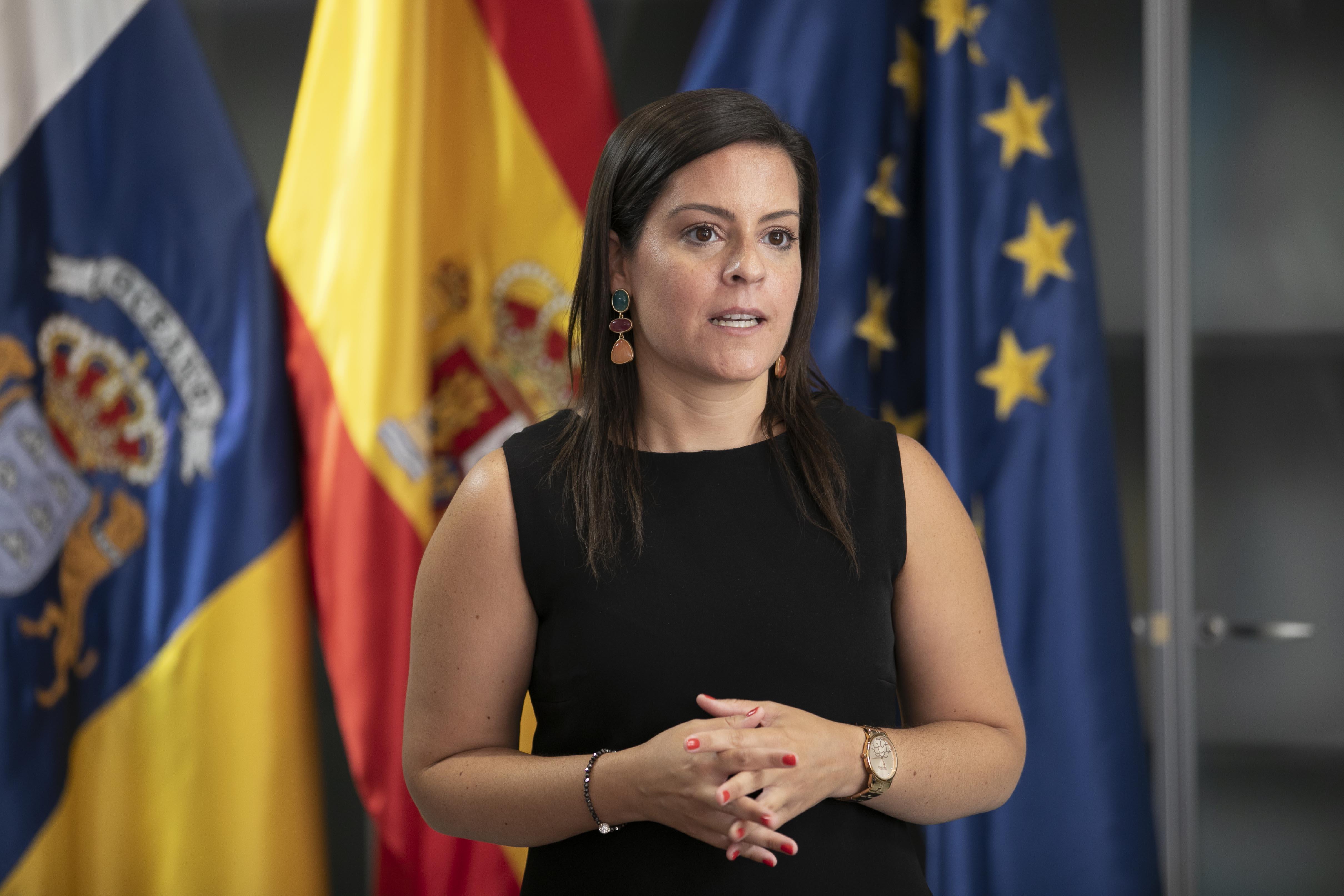 """La consejera de Turismo, Industria y Comercio, Yaiza Castilla, recuerda que se trata de """"dos actuaciones de relevancia para el sector turístico"""""""